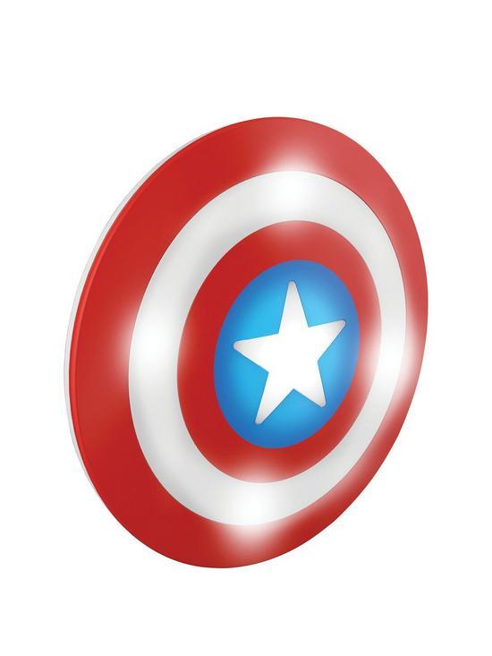 550x733 Philips Marvel 3d Wall Light Captain America Shield Yafwqj
