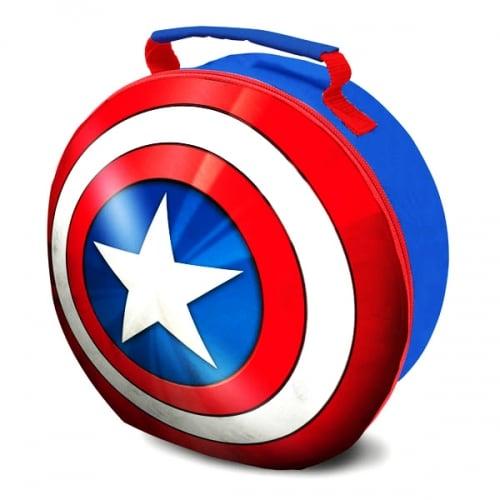 500x500 Buy Marvel Avengers Captain America Shield Lunch Bag