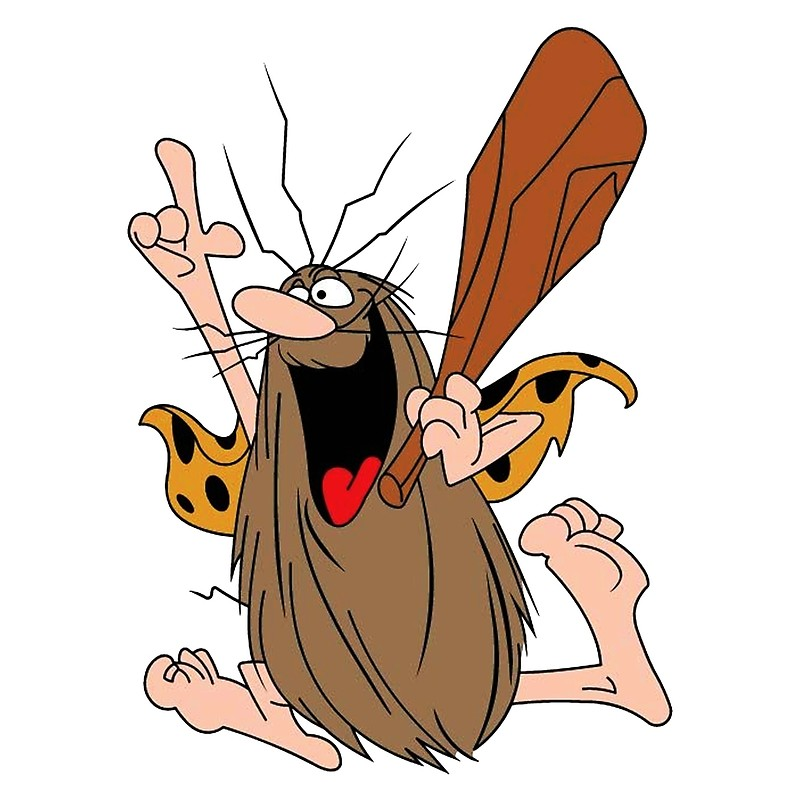 800x800 Captain Caveman Greeting Cards By Robetlewis008 Redbubble