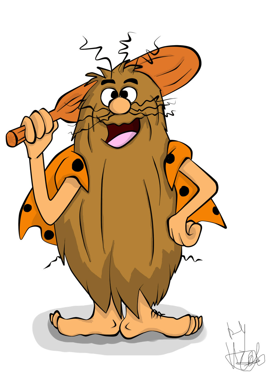 900x1267 Cartoon Fan Art Captain Caveman By Victorycabbage