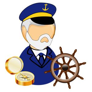 300x300 Marine Clipart Boat Captain