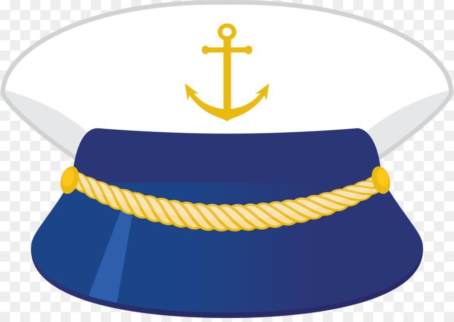 900x640 Sailor Cap Sea Captain Drawing Clip Art