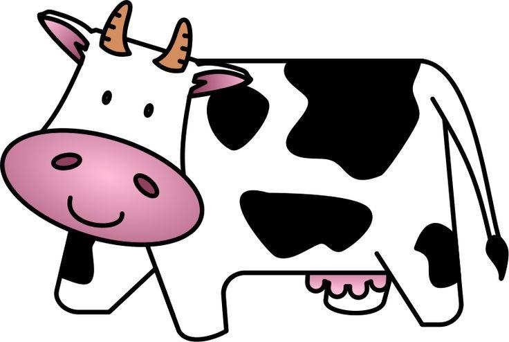 736x494 Cow Clip Art Free Cartoon Clipart Panda