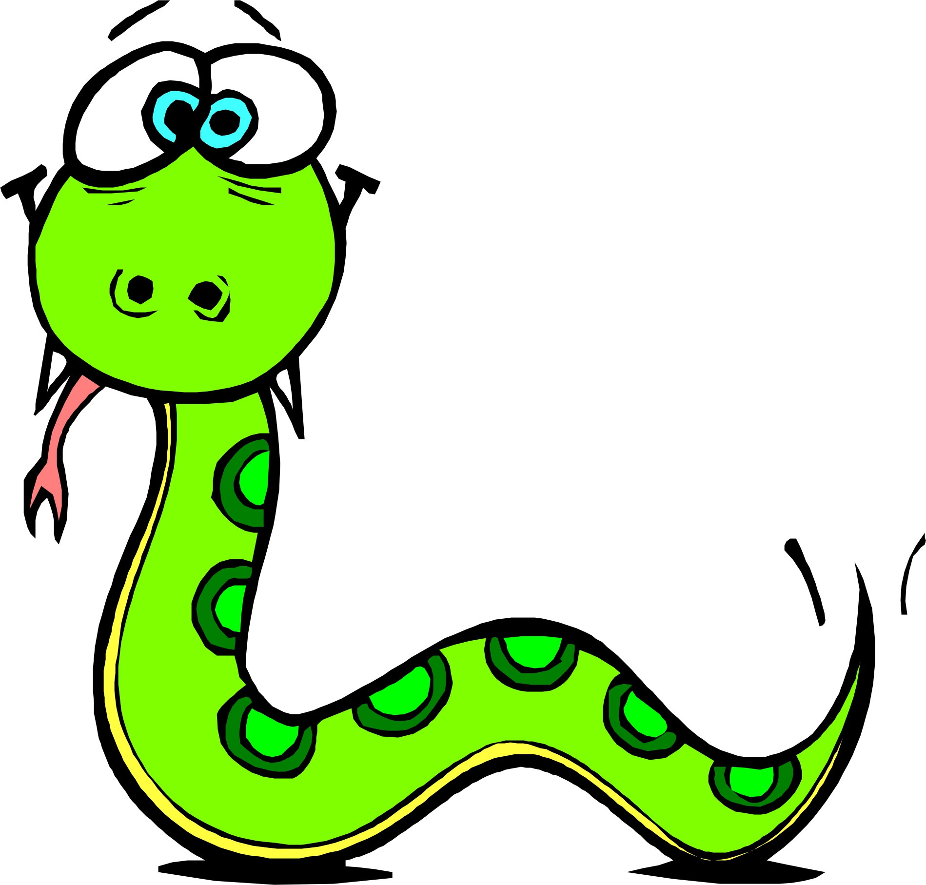 1899x1815 Top 76 Snake Clipart