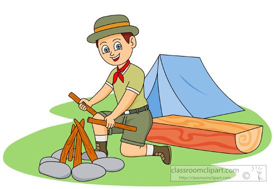 550x379 Clipart Boy Scout