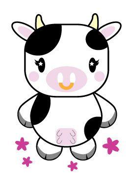 267x376 Cute Moo Moo Capybara And Cow