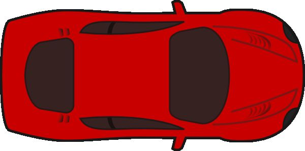 600x297 Clip Art Images Fresh New Car Top View Clipart Red Car Top View 0d