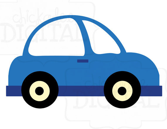 570x441 Cars Clipart Little Blue Car Clipart Etsy And Clip Art Clipart