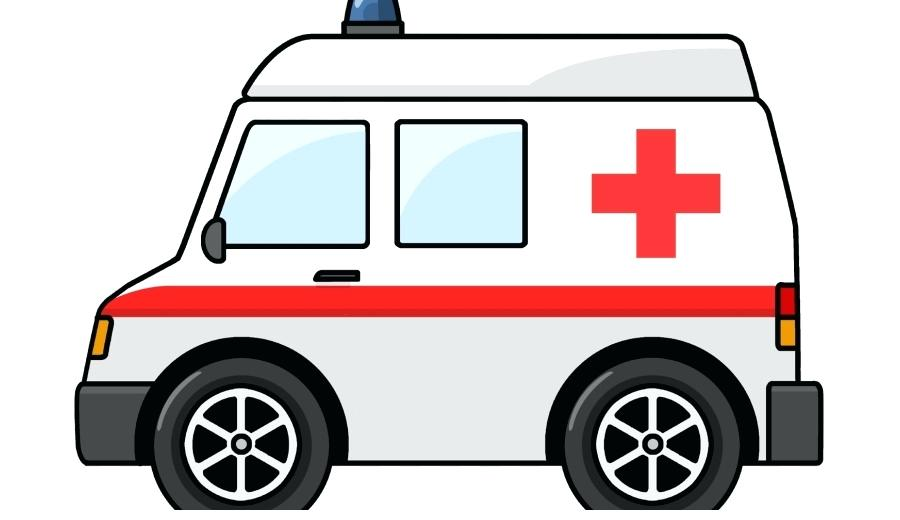 900x520 Ambulance Pictures Clip Art Ambulance Van Over White Royalty Free