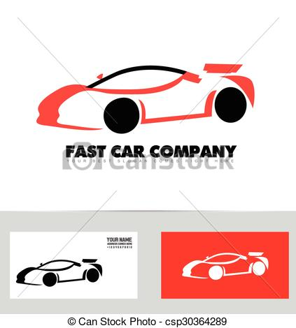 423x470 Car Logo. Vector Company Logo Icon Element Template Car Auto