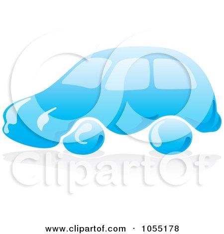 450x470 Royalty Free Vector Clip Art Illustration Of A Blue Car Wash Logo