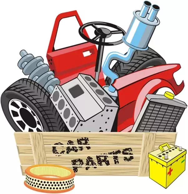602x621 Collection Of Automotive Parts Clipart High Quality, Free