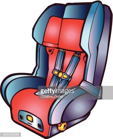 373x459 Car Seat C2 Premium Clipart