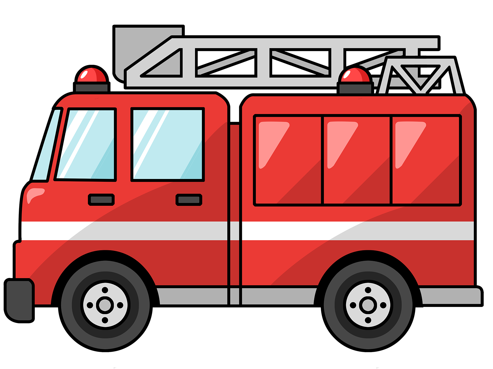 1600x1200 Free Domain Fire Truck Clipart Birthday Catds Fire