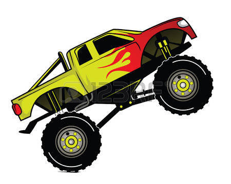 450x359 Monster Truck Clip Art