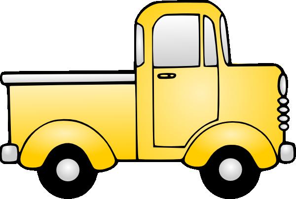 600x404 Old Truck Clip Art