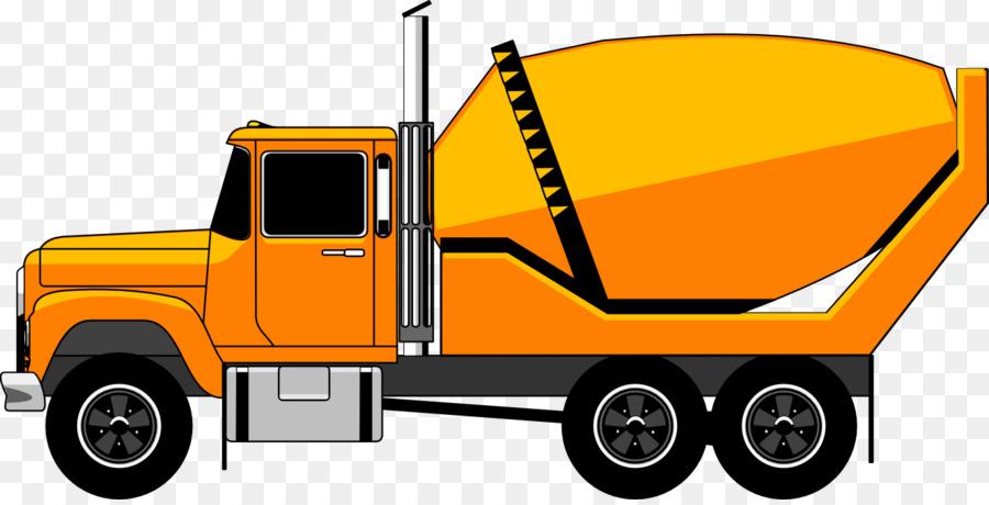 900x460 Concrete Mixer Truck Concrete Pump Clip Art
