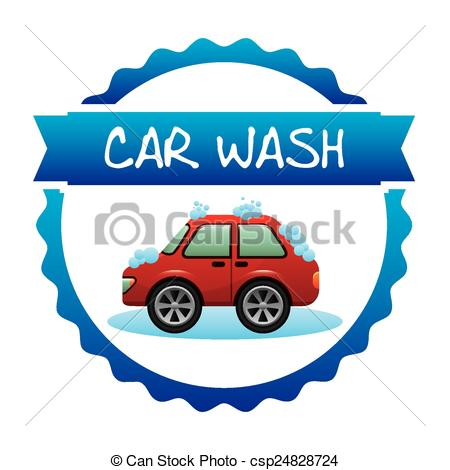 450x470 Car Wash Design, Vector Illustration Eps10 Graphic Vector