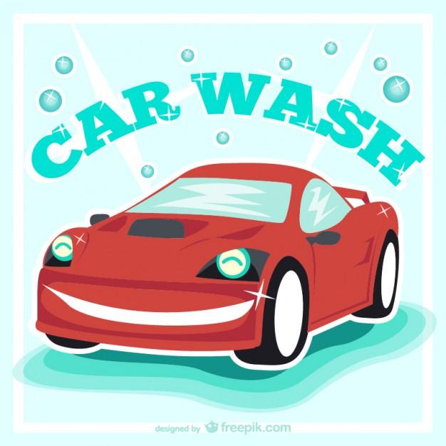 626x626 Car Wash Vintage Vector Vector Free Download