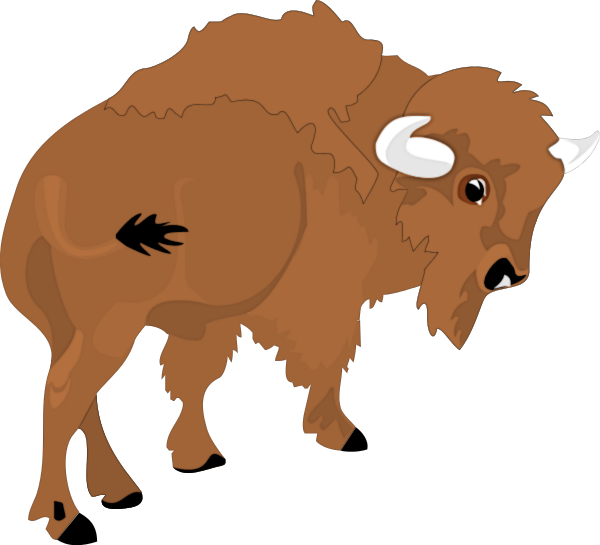 600x545 Free Buffalo Clipart 1 Page Of Public Domain Clip Art Image