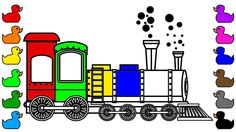 236x132 Learn Colors With Car And Rainbow Truck Coloring Pages, Fun