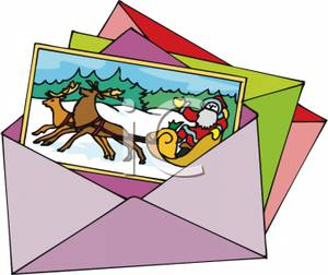 300x252 Christmas Cards Clip Art Free Clipart For Merry Happy New