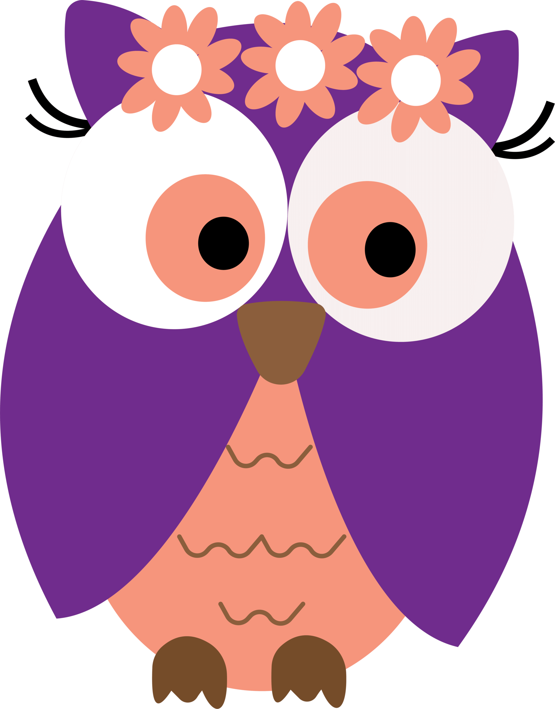 2146x2744 Ch B Graduation Owls Owl Card Clipart Free Clip Art Images