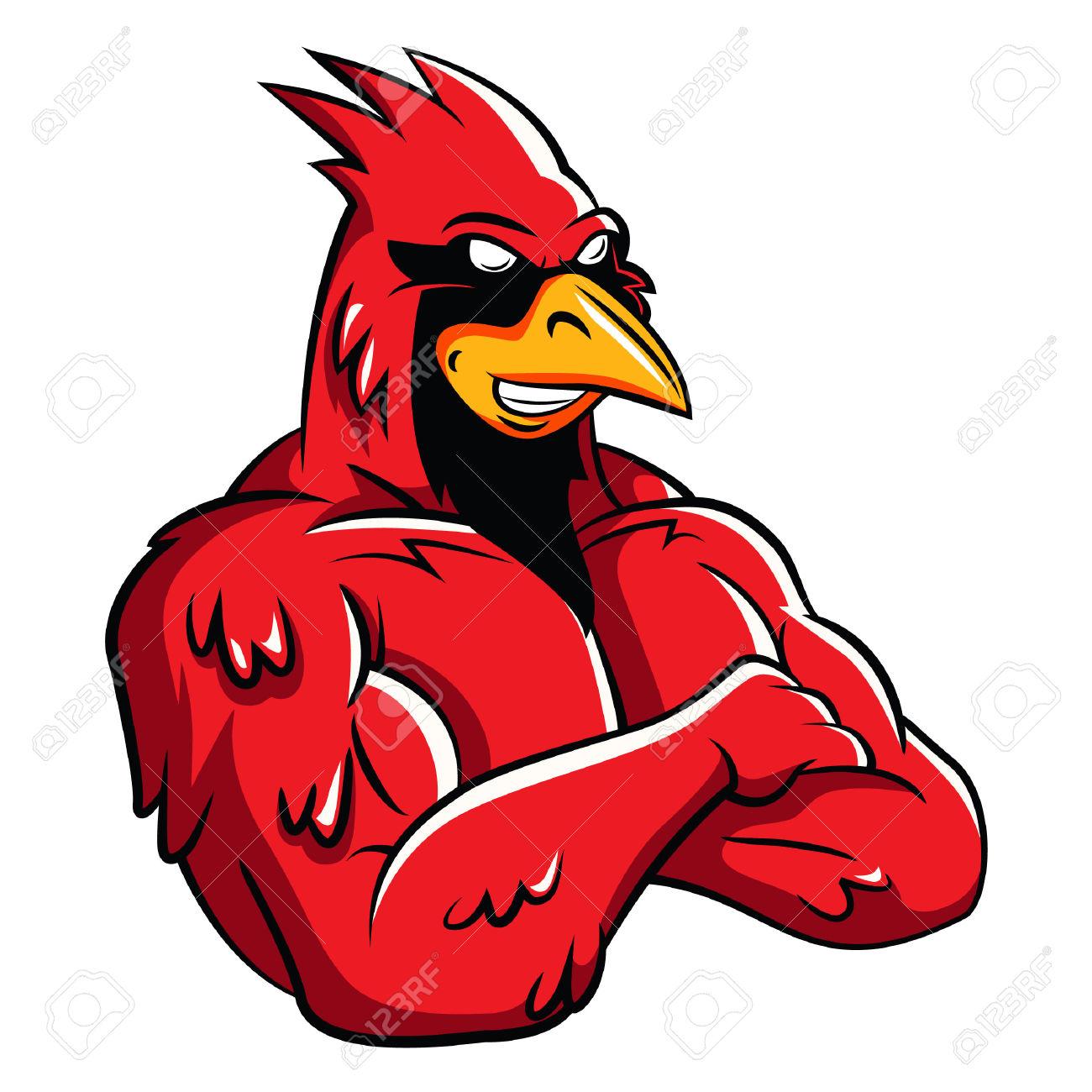 1300x1300 Cartoon Cardinal Bird Gallery Images)
