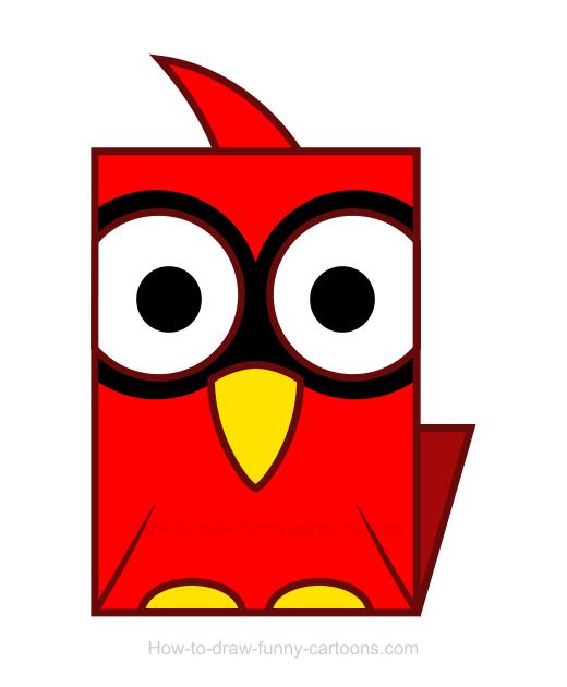 520x630 Cardinal Clipart