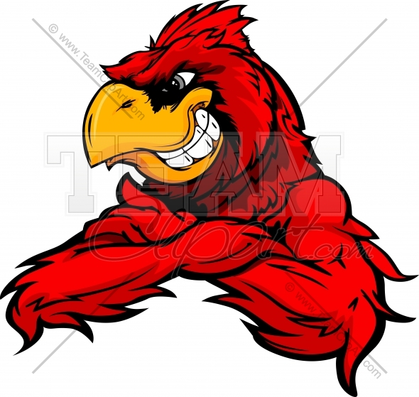 590x559 Cardinal Clipart Angry