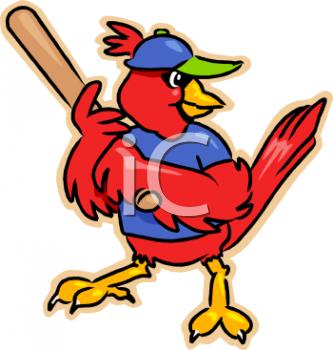 333x350 Royalty Free Cardinal Clip Art, Bird Clipart