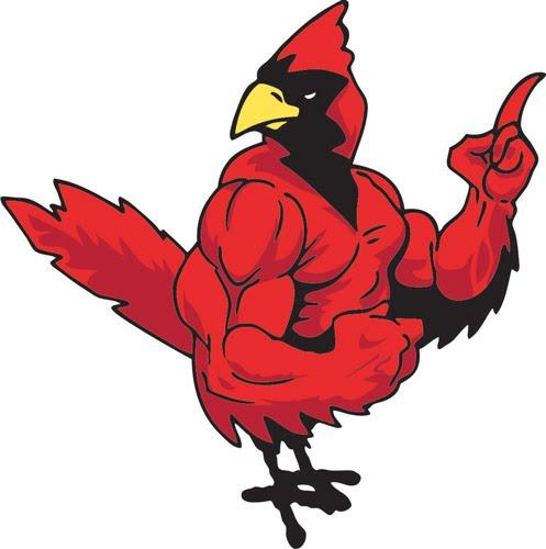497x500 Cardinal Clip Art