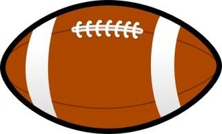 322x195 Colorful Clipart Football