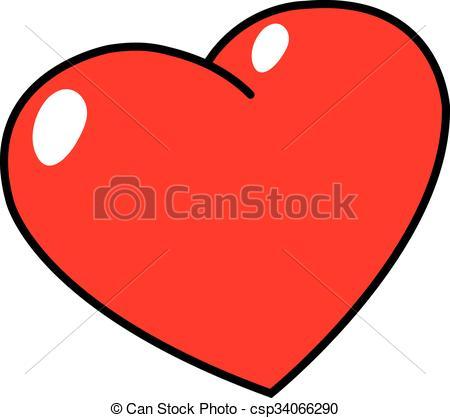 450x418 Illustration Of Heart Shape Eps Vectors