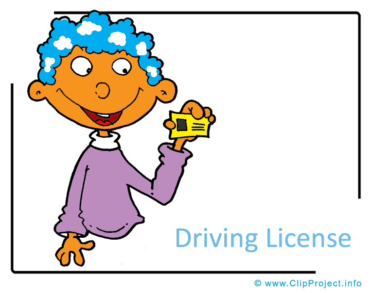 765x604 Driving License Clipart Image