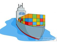 220x165 Cargo Ship Clipart Cargo Ship Clip Art Shipping Png Download