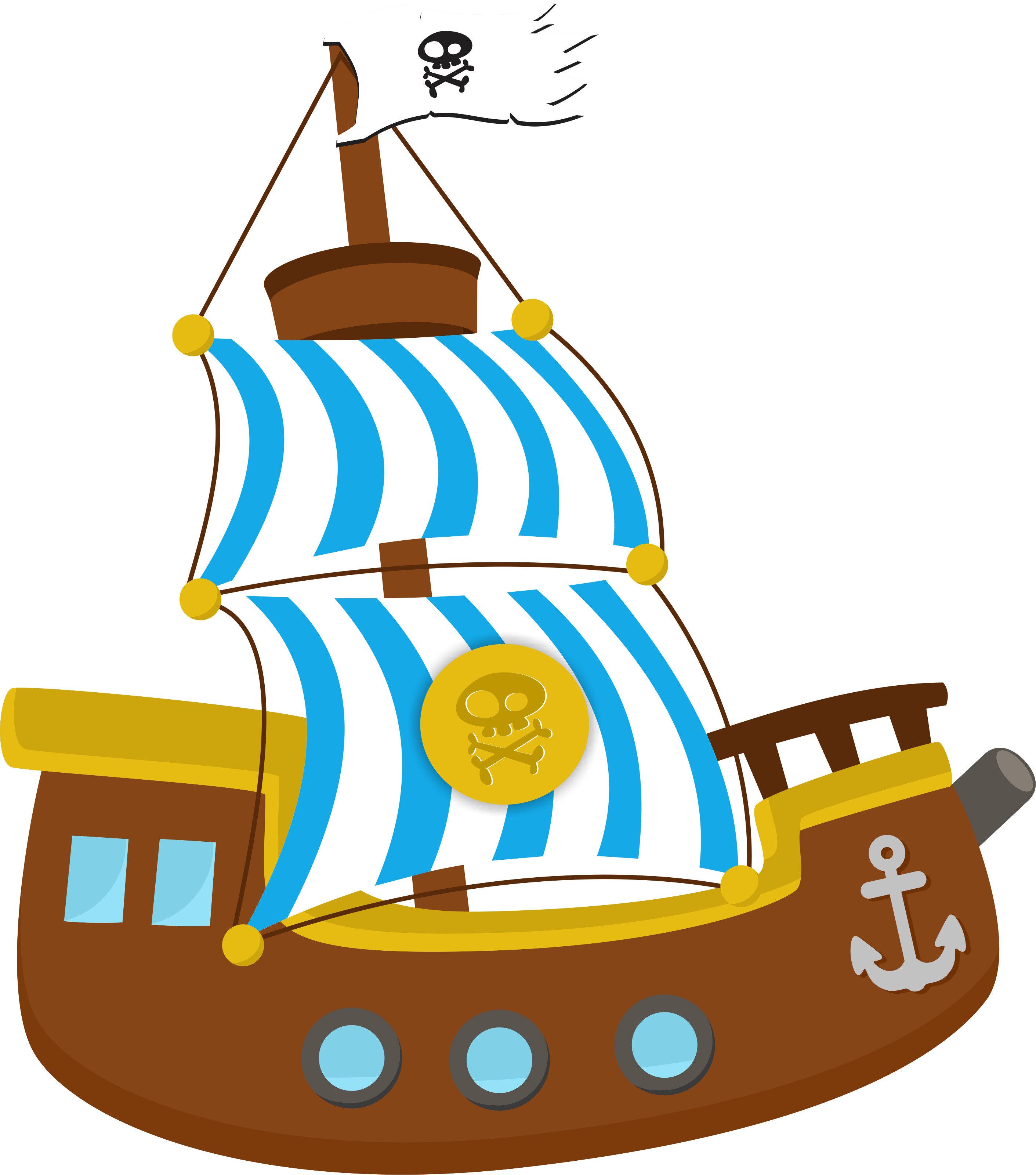 2822x3201 Jake And The Neverland Pirates Ship Clipart