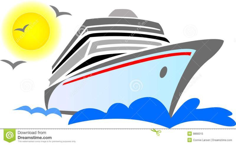 800x490 Cruise Ship Clip Art Black And White Free