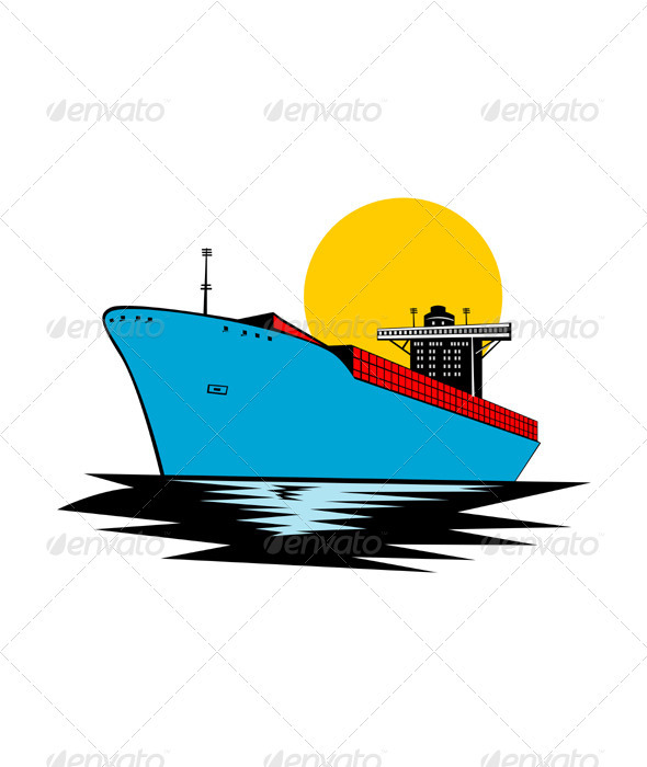 590x700 Boat Clipart Front View