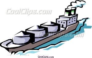 300x189 Cargo Ship Clip Art