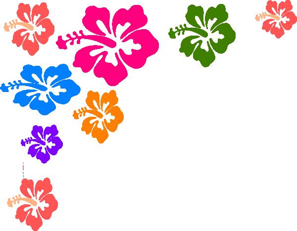 600x467 Majestic Hawaiian Clip Art Borders Free Flower Border Clipart Kid