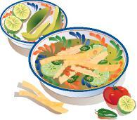 195x171 Restaurant Menu Design Software Hispanic Foods Royalty Free Clip