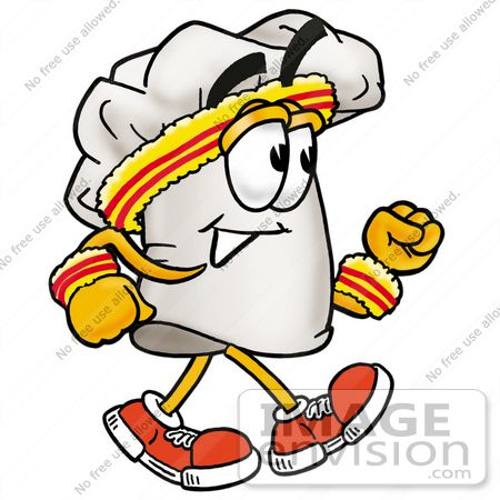 450x450 Caricature Drawings Of Cooks Clip Art Graphic Of A White Chefs