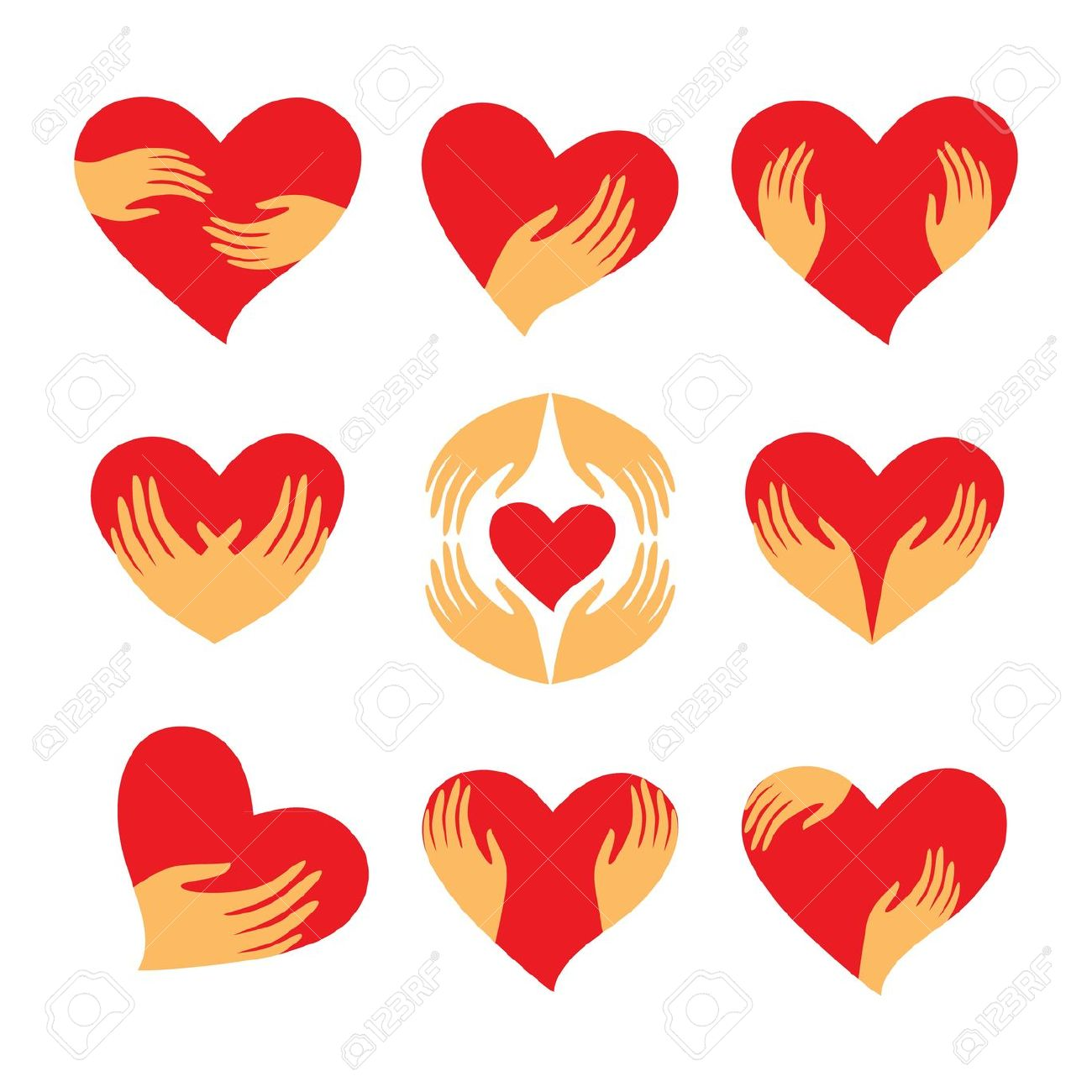 1300x1300 Caring Love Clipart