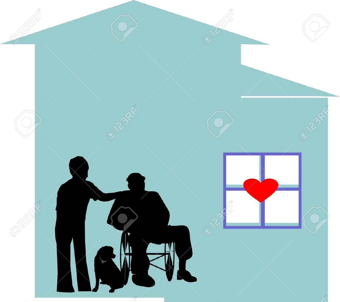 1300x1155 Hospice Clipart