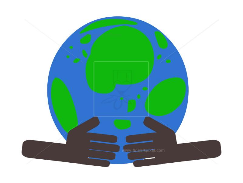 800x603 Save Earth Caring Hands Clip Art Free Vectors, Illustrations
