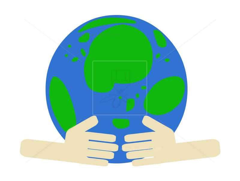 800x603 Save Earth Caring Hands Clip Art Illustration Free Vectors
