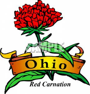 289x300 Clip Art Image The Ohio State Flower