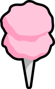 183x296 Carnival Cotton Candy Clipart