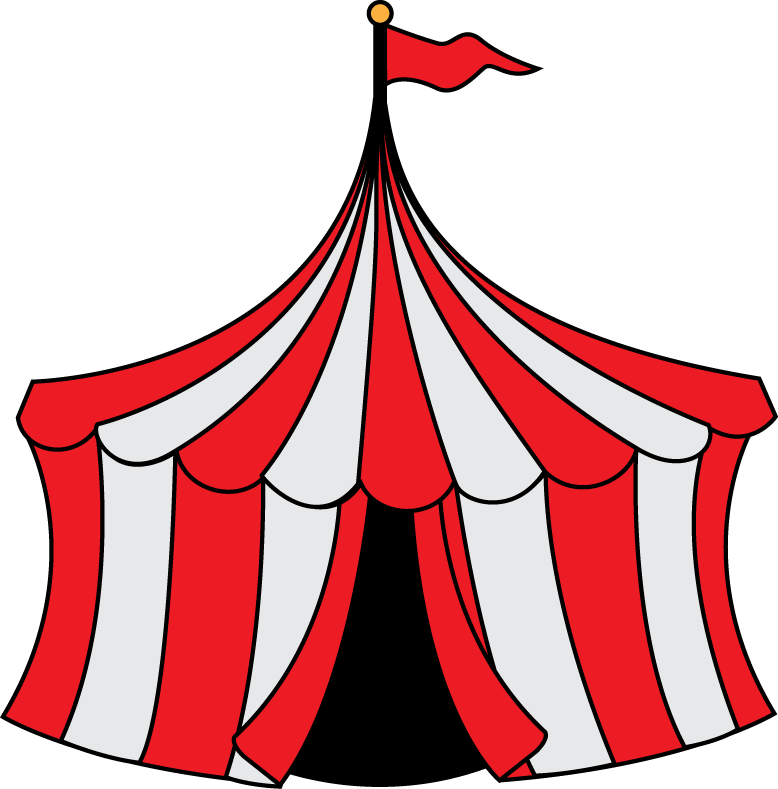 778x789 carnival tent clipart carnival clip art circus party invitation